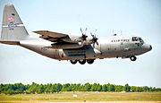 165th Airlift Squadron - Lockheed C-130H Hercules 91-1236