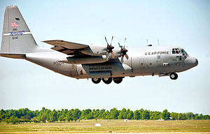 165th Airlift Squadron - Lockheed C-130H Hercules 91-1236.jpg