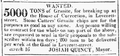 1825 granite LeverettStJail ColumbianCentinel March16.png
