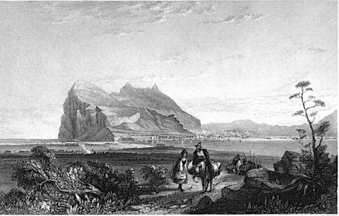 1838-45-Gibraltar, from the Queen of Spain's Chair.png