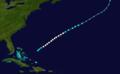 1892 Atlantic hurricane 8 track.png