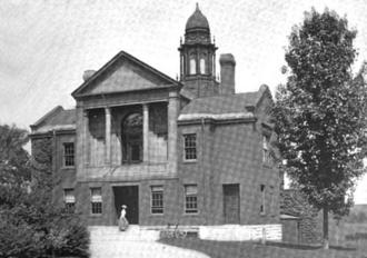 Lancaster, Massachusetts - Lancaster public library, 1899