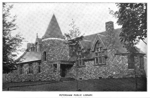 Petersham, Massachusetts - Petersham Public Library, 1899