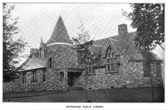 Petersham, Massachusetts - Petersham Public Library, 1899
