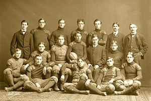 1902 college football season - Michigan team picture.