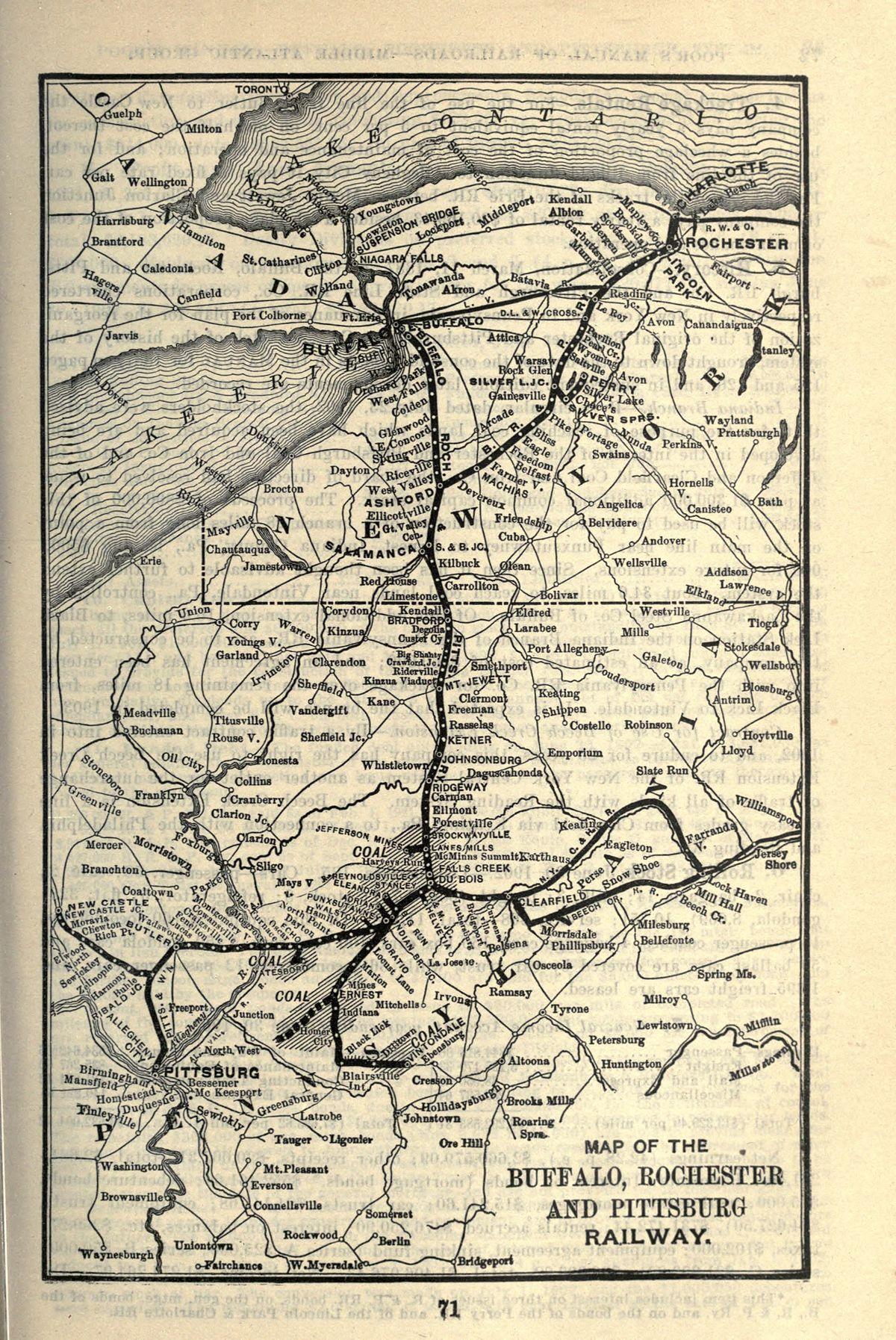 Buffalo, Rochester and Pittsburgh Railway - Wikipedia
