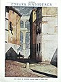 1919-08-02, La Esfera, España pintoresca, Una calle de Segovia, Pedraza Ostos.jpg