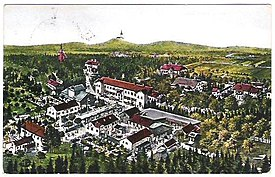 1926 postcard of Radenci.jpg
