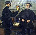 1930 Nesterov Portrait P.D. und A.D. Korin anagoria.JPG