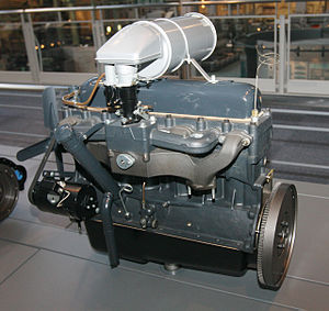 Toyota Type A engine - Image: 1935 Toyota A Type engine