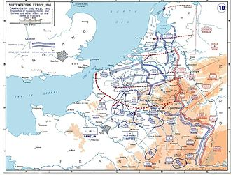French war planning 1920–1940 - Western Front campaign, 1940
