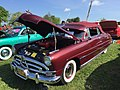 1951 Hudson maroon convertible at 2015 Shenandoah AACA meet 01.jpg