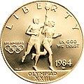 1984 Olympics Gold $10 Obverse.jpg