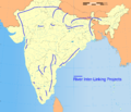 1 NWDA India River Inter-Linking Project Himalayan and Peninsular Components.png