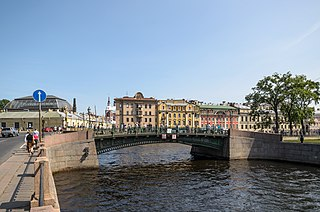 First Engineer Bridge bridge in Russia