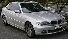 BMW serii 3 Coupe II (E46/2) po liftingu
