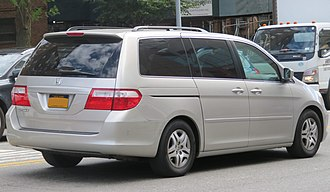 Honda Odyssey (North America) - Pre-facelift Honda Odyssey