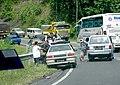 2006 Proton Saga Iswara PDRM police car in Tawau, Sabah, Malaysia.jpg