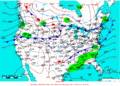 2007-02-21 Surface Weather Map NOAA.png
