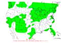 2007-03-22 24-hr Precipitation Map NOAA.png