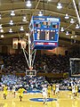 20071208 Manny Harris brings the ball upcourt against Duke.jpg