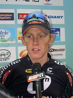 Kyle Gritters, Stage 6 Champion of 2008 Tour de Taiwan