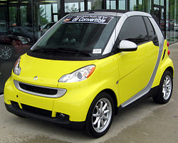 2008 Smart Fortwo Passion convertible (US)