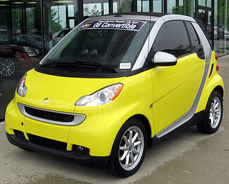 City car - 2008 Smart Fortwo convertible
