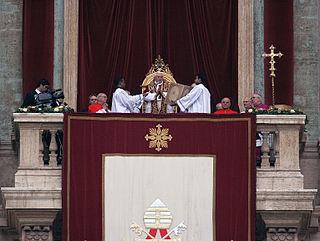<i>Urbi et Orbi</i> papal address and Apostolic Blessing