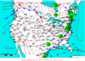 2009-05-17 Surface Weather Map NOAA.png