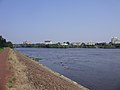 2009-08-17 View of downtown Trenton, New Jersey from across the Delaware River in Morrisville, Pennsylvania.jpg