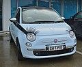 2009 Fiat 500 1.4 Lounge 3D (27048782154).jpg
