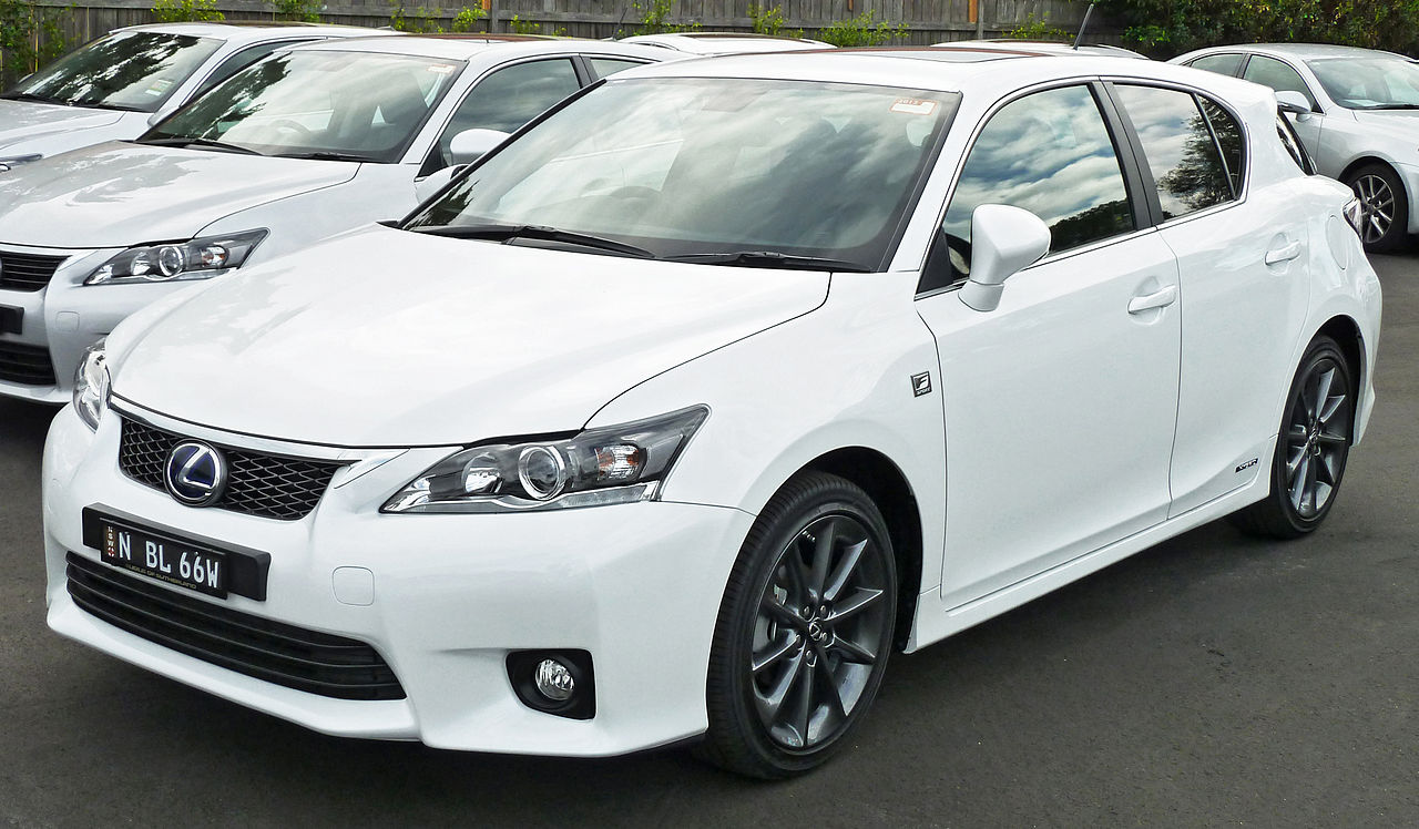 file 2011 lexus ct 200h zwa10r f sport hatchback 2011 04 22 wikimedia commons. Black Bedroom Furniture Sets. Home Design Ideas