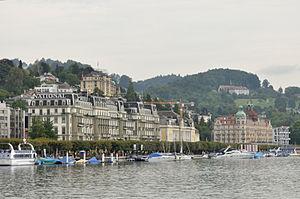 Grand Hotel National - Image: 2012 08 24 11 50 44 Switzerland Kanton Luzern Luzern