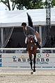 2013 Longines Global Champions - Lausanne - 14-09-2013 - Emil Hallundbaek et Catoki 5.jpg