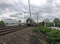 2014-05-15 15 00 00 New Jersey Transit train heading north along the Northeast Corridor rail line in Trenton, New Jersey.JPG
