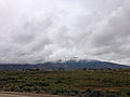 2014-06-17 10 00 31 View of the Ruby Mountains from Nevada State Route 227 (Lamoille Highway) after a late spring snowfall.JPG