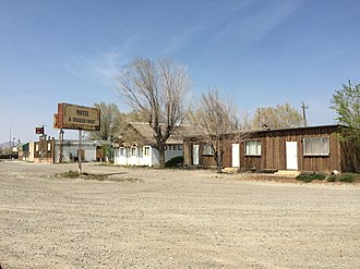 Golconda, Nevada - Image: 2015 04 20 13 10 48 Old buildings along Nevada State Route 789 in Golconda, Nevada