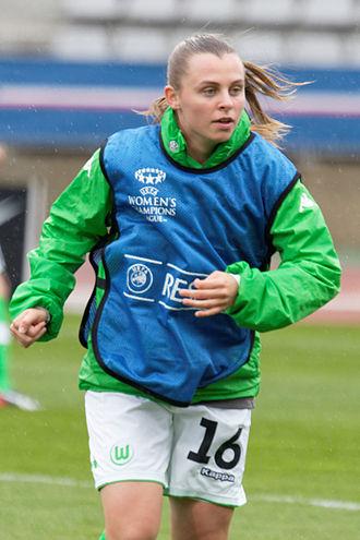 Noëlle Maritz - Maritz with Wolfsburg in 2015