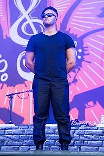 Tarek Ebéné at Rock im Park 2015