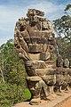 2016 Angkor, Angkor Thom, Brama południowa (03).jpg