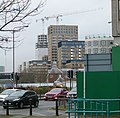 2016 Woolwich, Royal Arsenal Cannon Square construction site 1.jpg