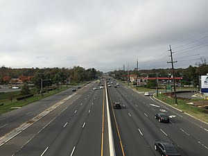 West Windsor Township, New Jersey - U.S. Route 1 is the largest and busiest highway in West Windsor