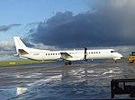 2017-12-15 Eastern Airways Saab 2000 (G-CIEC), Norwich Airport.JPG