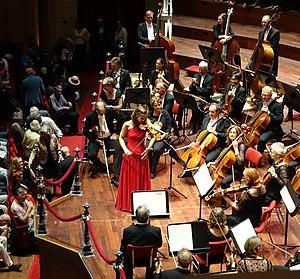 Deutsche Kammerphilharmonie Bremen - Janine Jansen with the Deutsche Kammerphilharmonie Bremen in Concertgebouw (Amsterdam), 2017