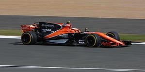 McLaren MCL32 - Stoffel Vandoorne at the British Grand Prix