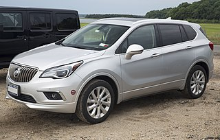 Buick Envision Motor vehicle
