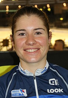 Coralie Demay French racing cyclist