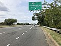 2019-09-17 12 13 53 View west along Virginia State Route 7 (Leesburg Pike) at the exit for Virginia State Route 244 WEST (Columbia Pike, Annandale) in Bailey's Crossroads, Fairfax County, Virginia.jpg