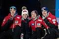 20190302 FIS NWSC Seefeld Medal Ceremony Team Austria 850 6850.jpg